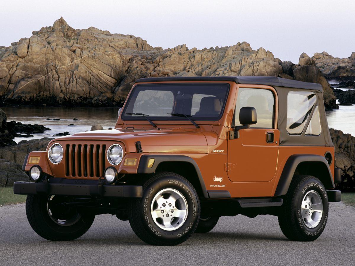 2003 Jeep Wrangler Sahara Black Wrangler Sahara PowerTech 40L I6 4-Speed Automatic 4WD and L