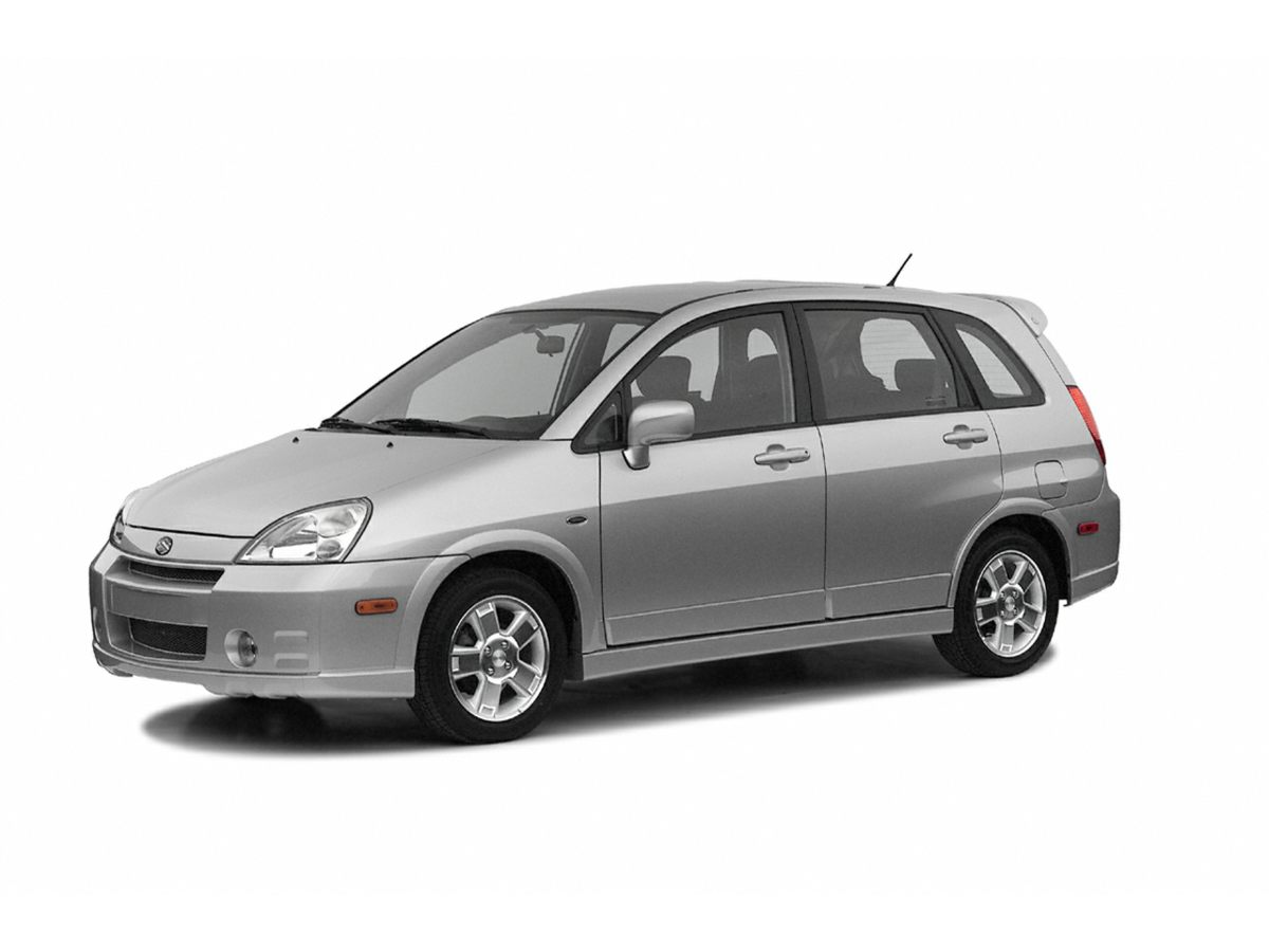2003 Suzuki Aerio SX 15 Aluminum WheelsFront Bucket SeatsCloth Seat TrimAMFM Stereo w6 Disc