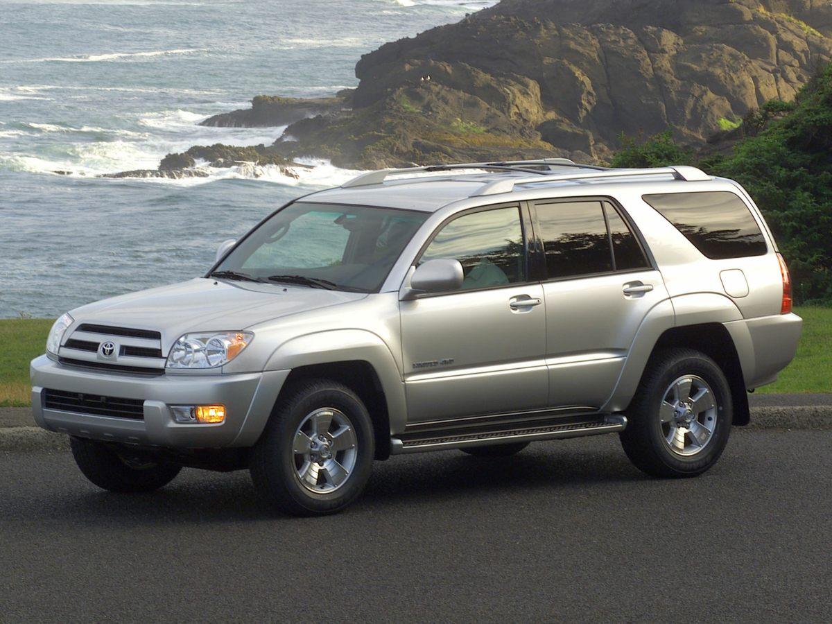 2003 Toyota 4Runner 373 Axle RatioPremium 3-in-1 w6 Speakers4-Wheel Disc BrakesAir Conditioni