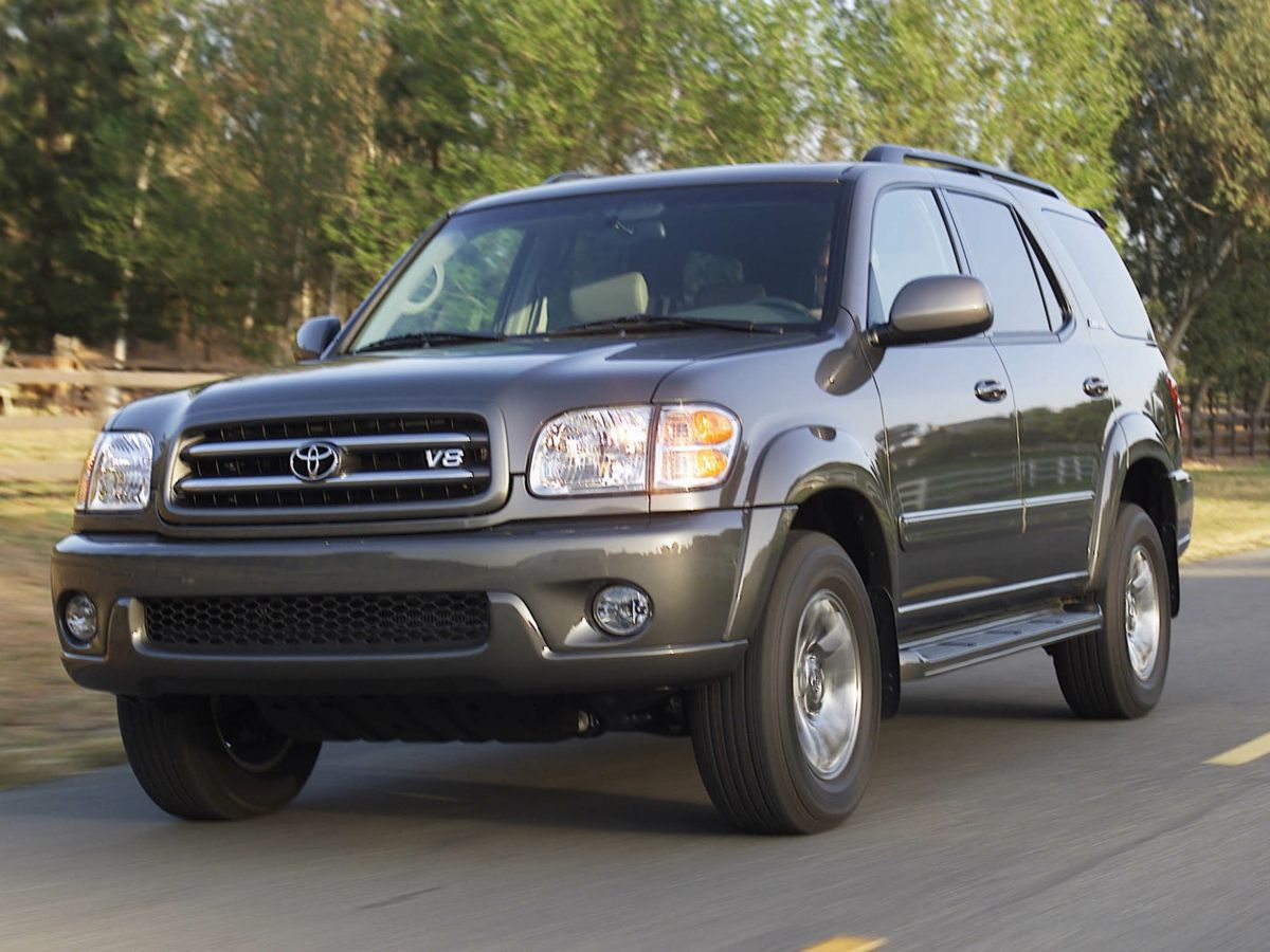 2003 Toyota Sequoia Limited Yeah baby Look Look Look Set down the mouse because this 2003 Toy