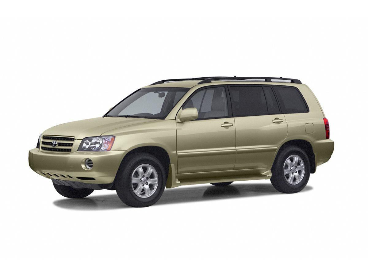 2003 Toyota Highlander V6 3291 Axle Ratio16 x 65 Silver Styled Steel WheelsCloth Seat Trim3
