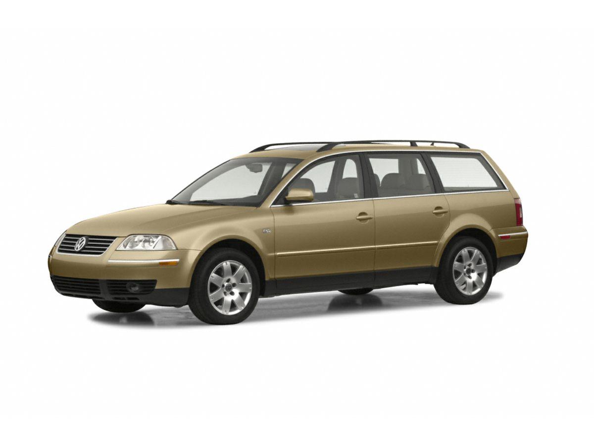 2003 Volkswagen Passat GLX 4D Station Wagon
