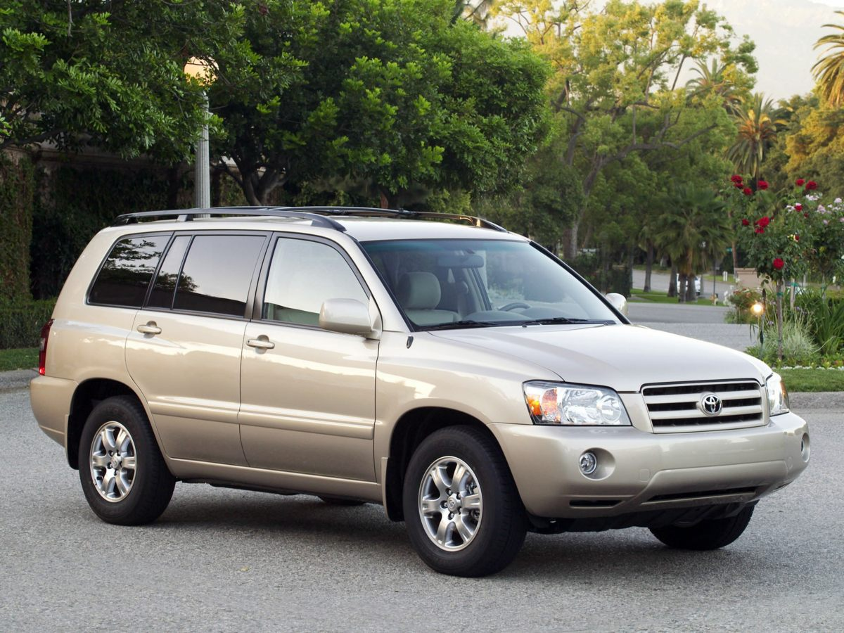 2004 Toyota Highlander Base In a class by itself Join us at Mac Haik Dodge Chrysler Jeep Ram Templ