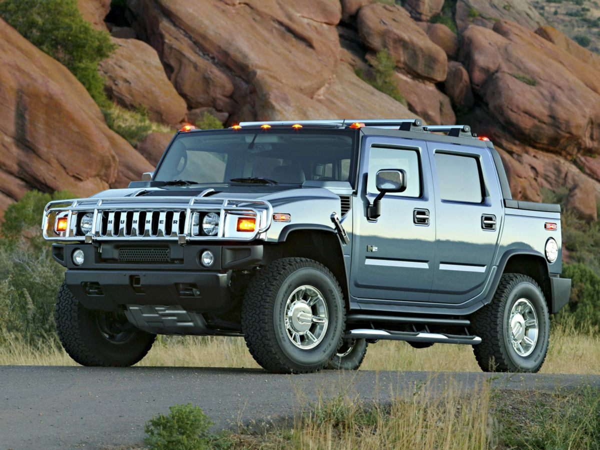 2005 Hummer H2 SUT Base Black WOW SUPER RARE SUT H2THIS IS THE ONEFULLY LOADEDHEATED