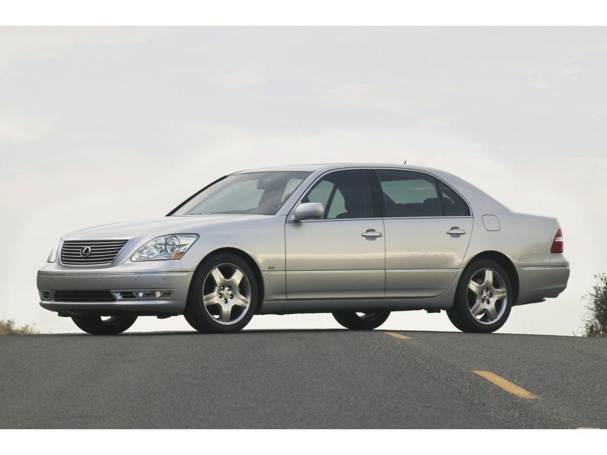 2006 Lexus LS 430 17 x 75 Alloy WheelsLeather Seat TrimETR AMFM Stereo w6-Disc In-Dash CD C