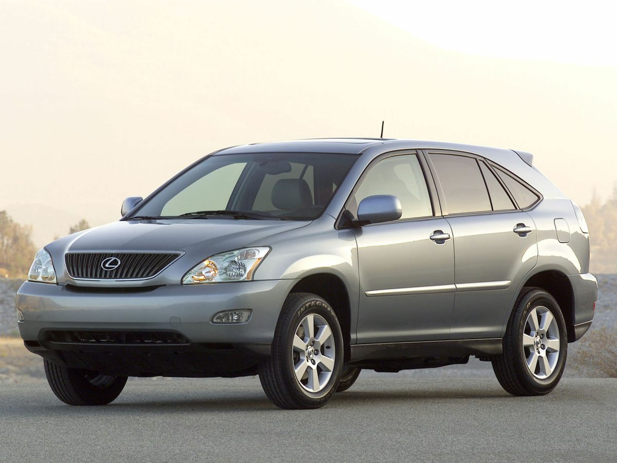 2005 Lexus RX 330 Black AWD and Black wLeather Trim Interior What a price for an 05 Dont wait