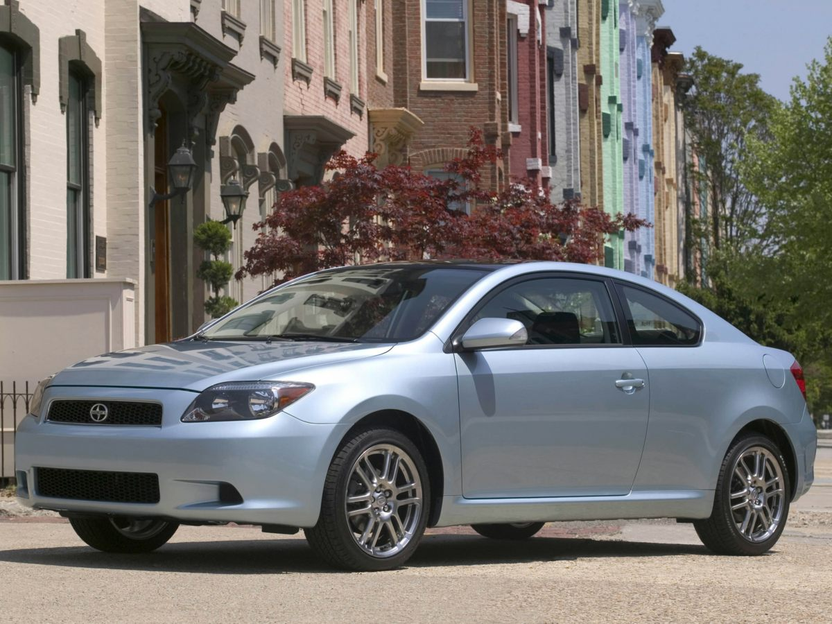 2005 Scion tC Gray 2D Coupe and 4-Speed Automatic Has seen very little road Fuel-friendly Are