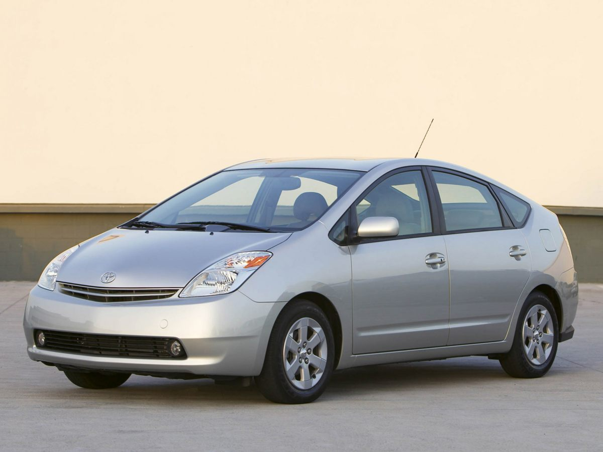 2005 Toyota Prius Base White  3 YEARS OF OIL CHANGES  15L I4 SMPI DOHC Call us at 866-399-42