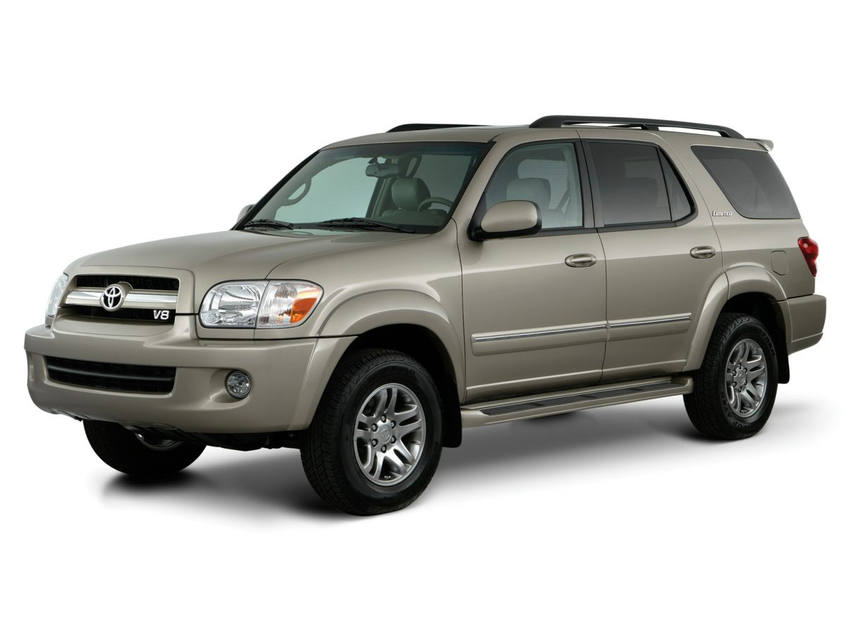 2005 Toyota Sequoia White 410 Axle Ratio4-Wheel Disc BrakesAir ConditioningCassetteElectronic