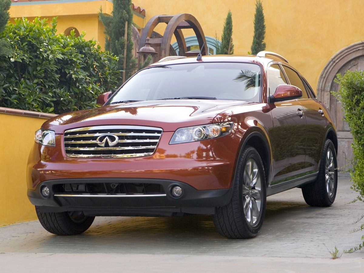 2006 INFINITI FX35 Base Blue AWD You Win Creampuff This handsome 2006 Infiniti FX35 is not g