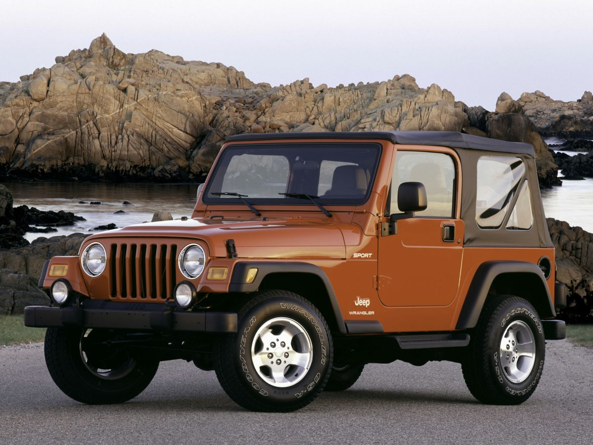 2006 Jeep Wrangler X Dont bother looking at any other SUV Stroll on down here Put down the mou