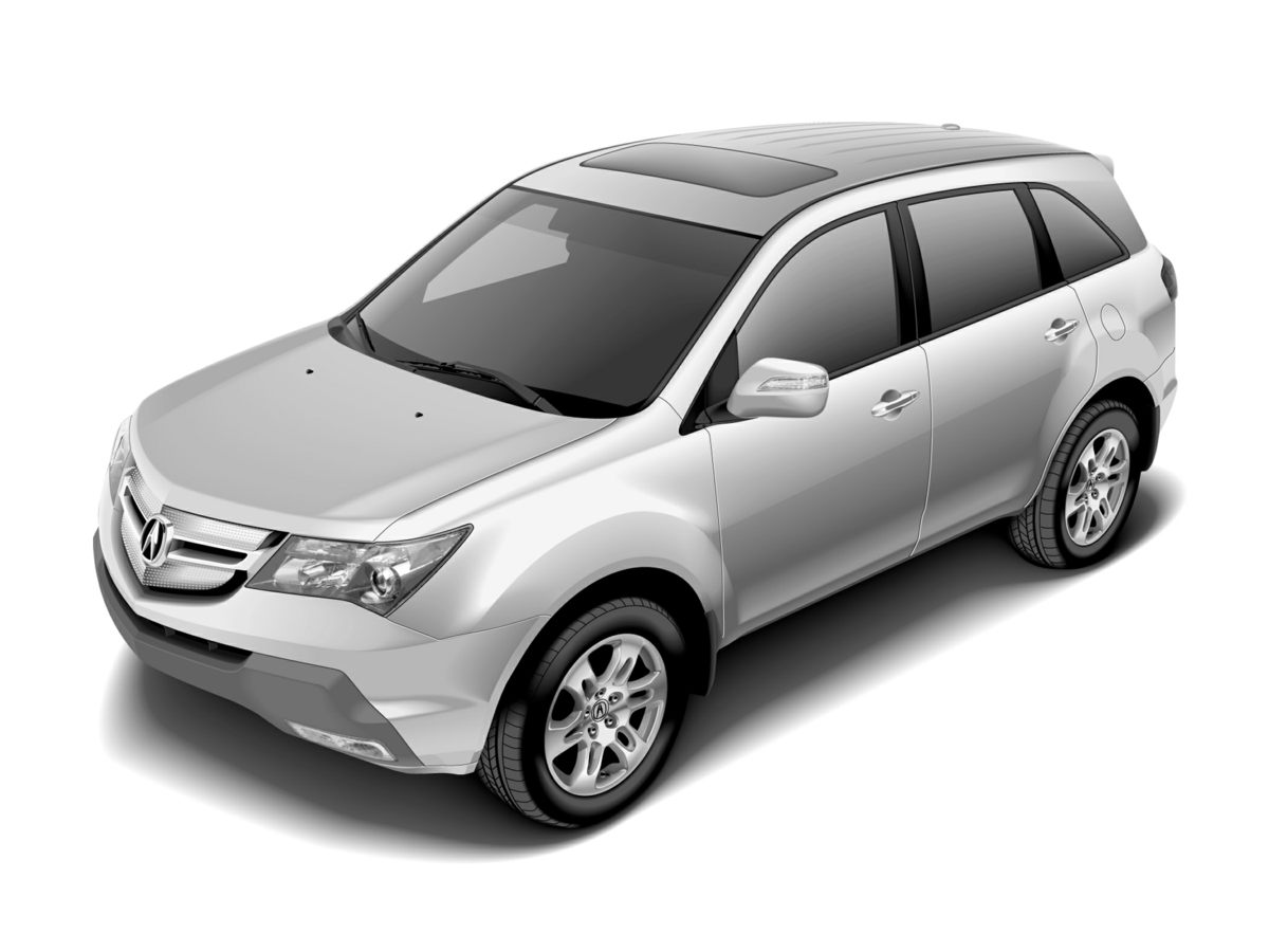 2007 Acura MDX Technology Silver Low miles mean barely used Like new Imagine yourself behind the
