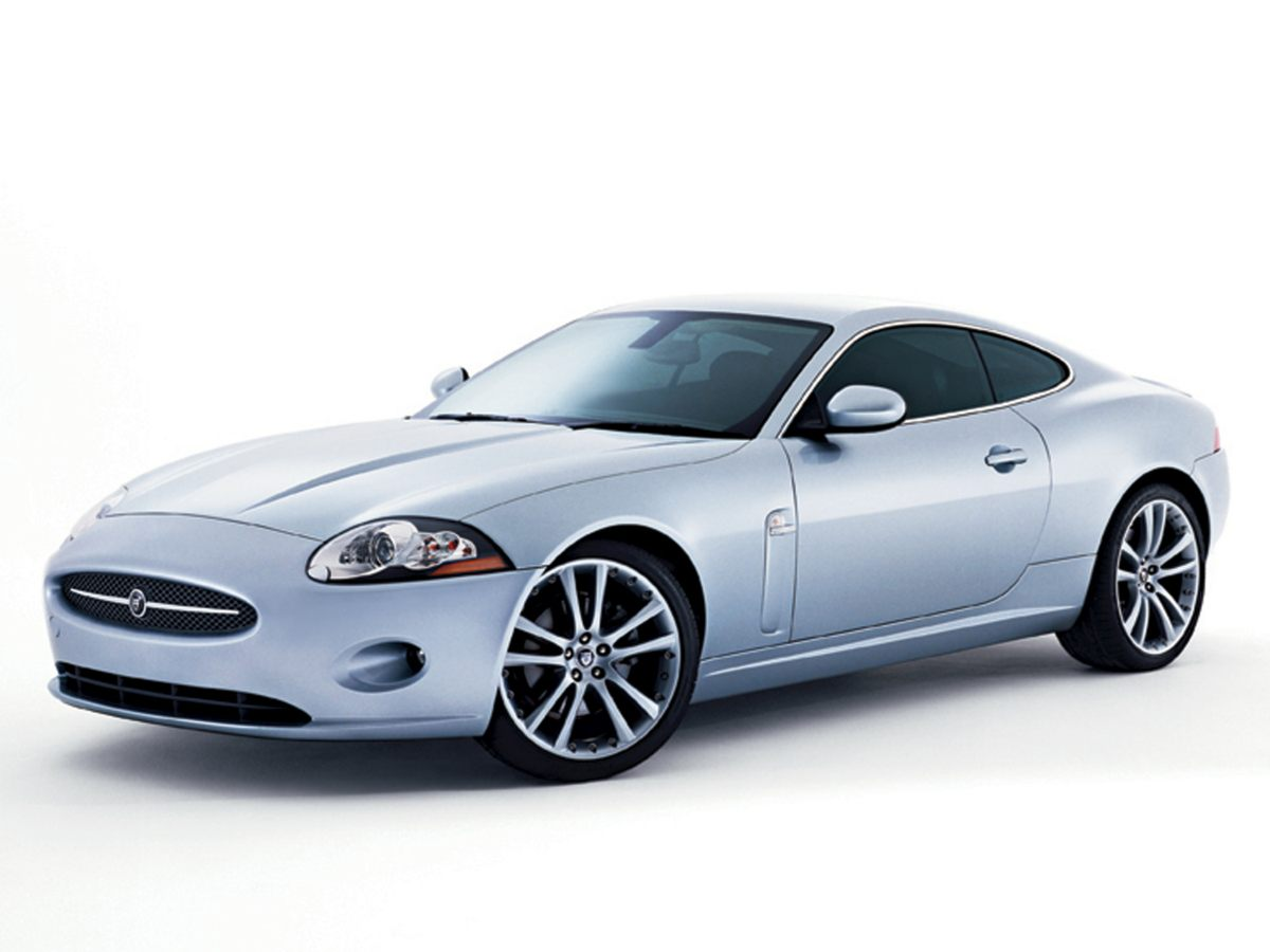 2007 Jaguar XK Base Silver 2D Coupe and 42L AJ-V8 DOHC 32V Real Winner Why pay more for less