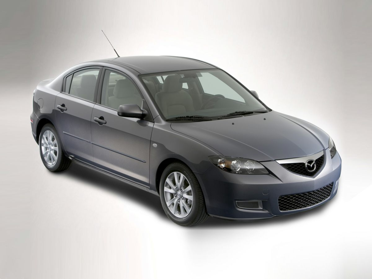 2007 Mazda Mazda3 s 16 Alloy WheelsReclining Sport Front Bucket SeatsCloth-Trimmed Seat Upholst