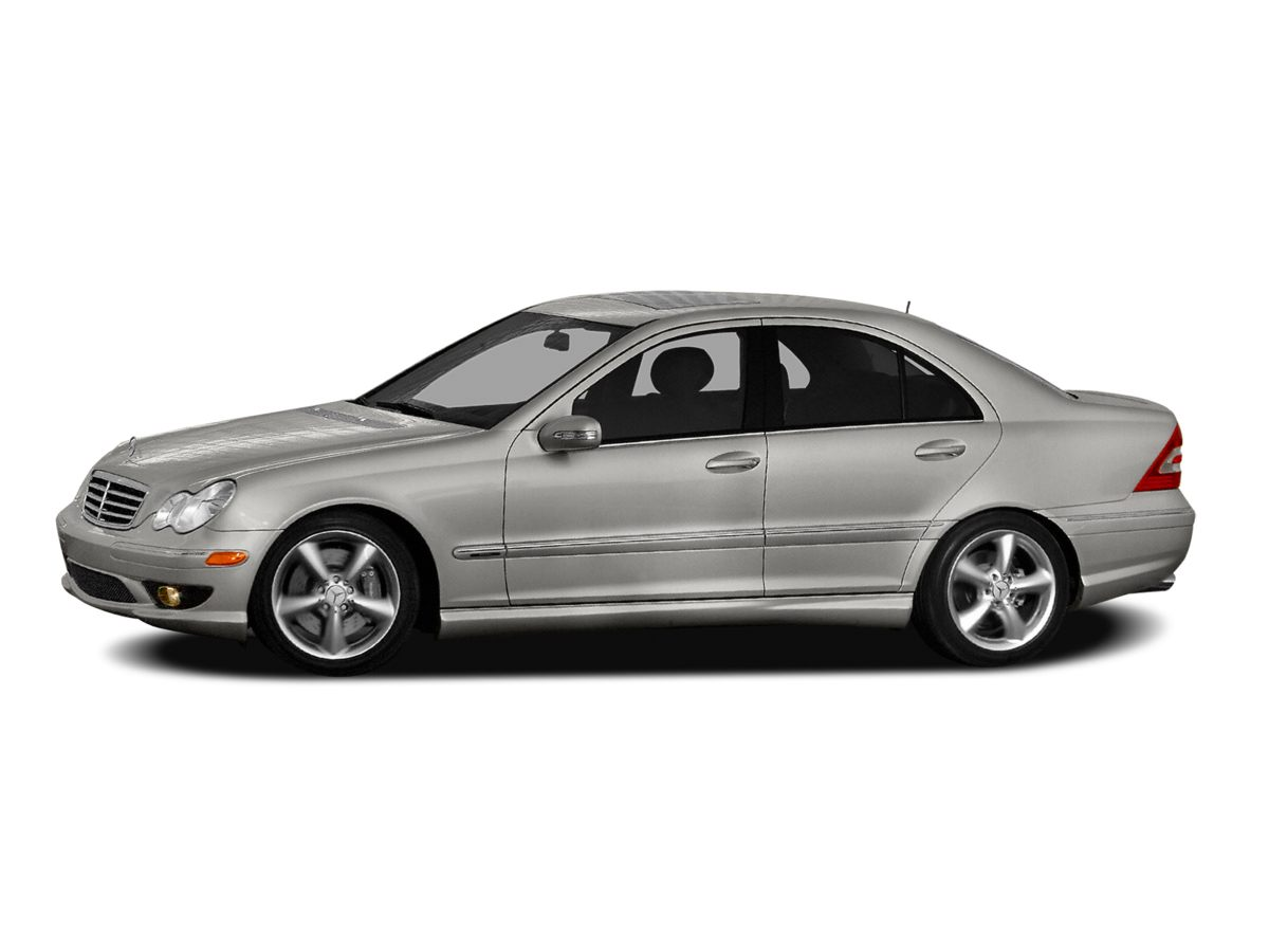 2007 Mercedes-Benz C-Class C230 Black Antilock Brakes dole out total stopping control The ultima