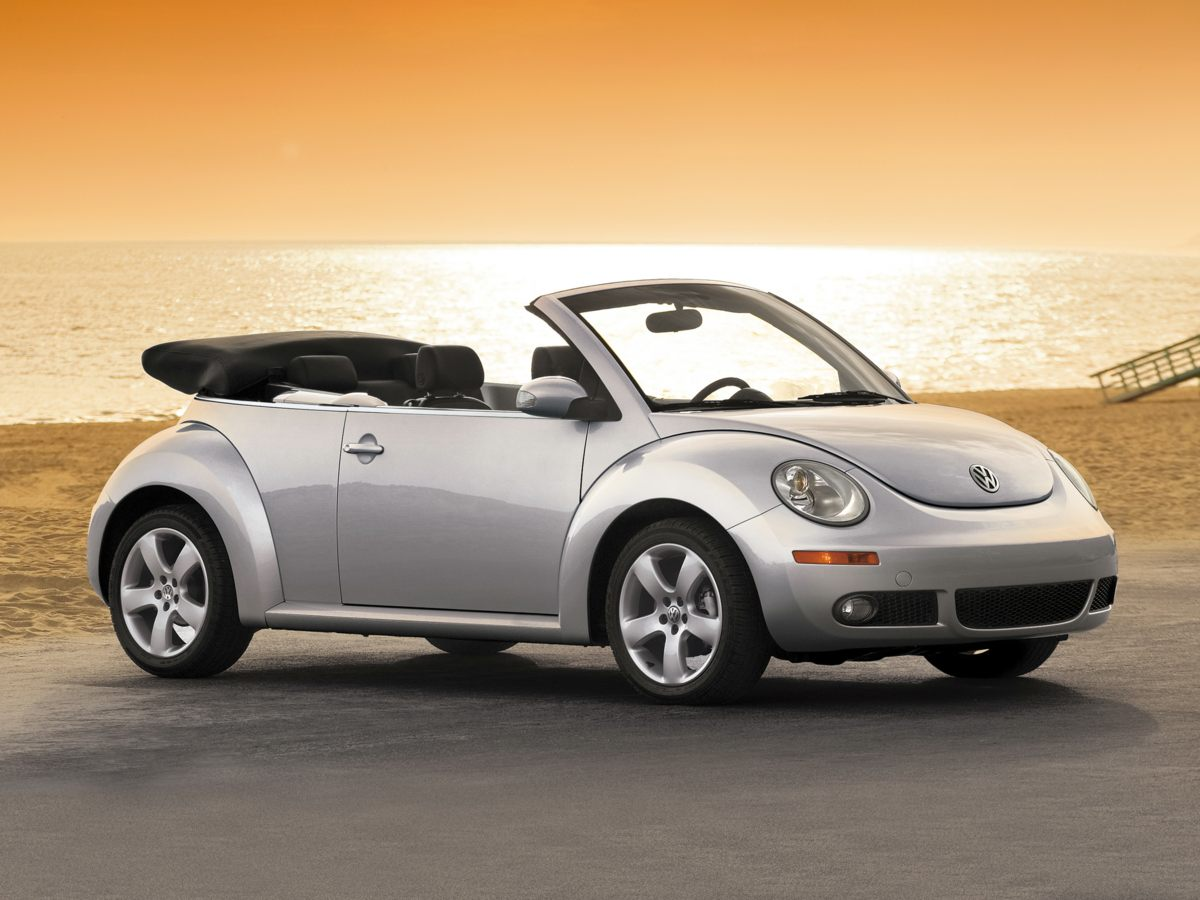 2007 Volkswagen Beetle 25L Newly Detailed 80 Point Inspection SUPER RARE TRIPLE WHITE and THIS