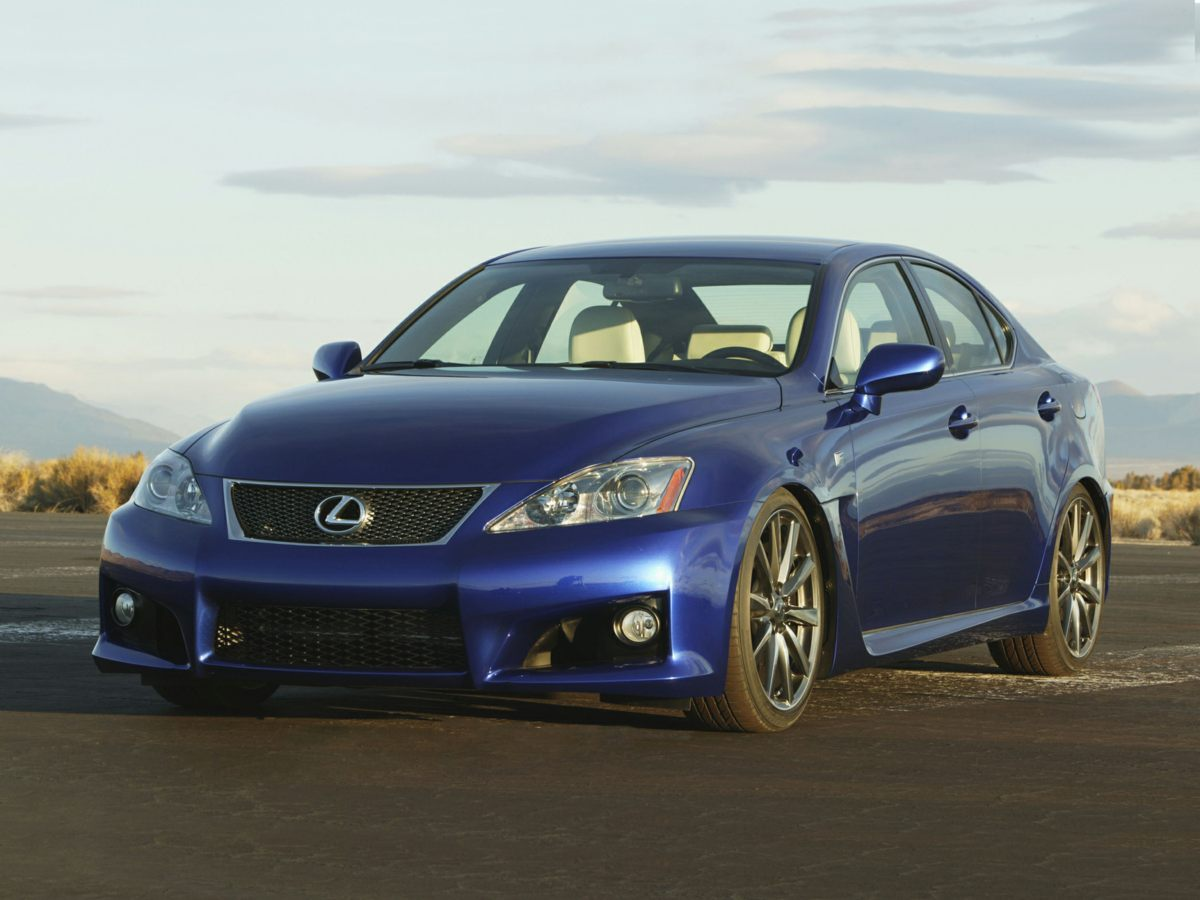 2008 Lexus IS F 10-Way Power Heated Front Sport SeatsLeather Trimmed InteriorAMFM ETR 6-Disc In