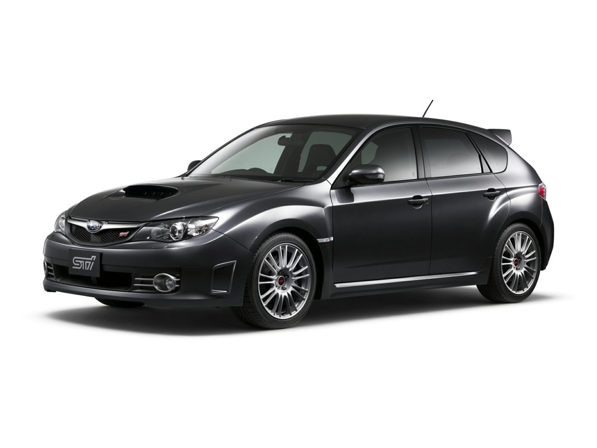 2008 Subaru Impreza WRX STi Black Impreza WRX STi 4D Hatchback 25L DOHC Intercooled High Boost
