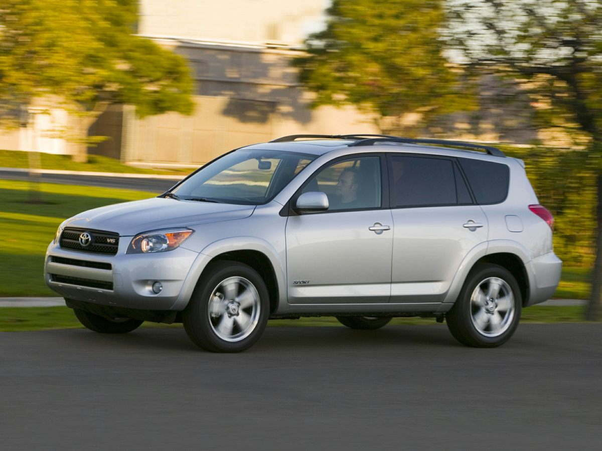 2008 Toyota RAV4 Limited White FUEL EFFICIENT 27 MPG Hwy19 MPG City GREAT DEAL 2700 below NADA