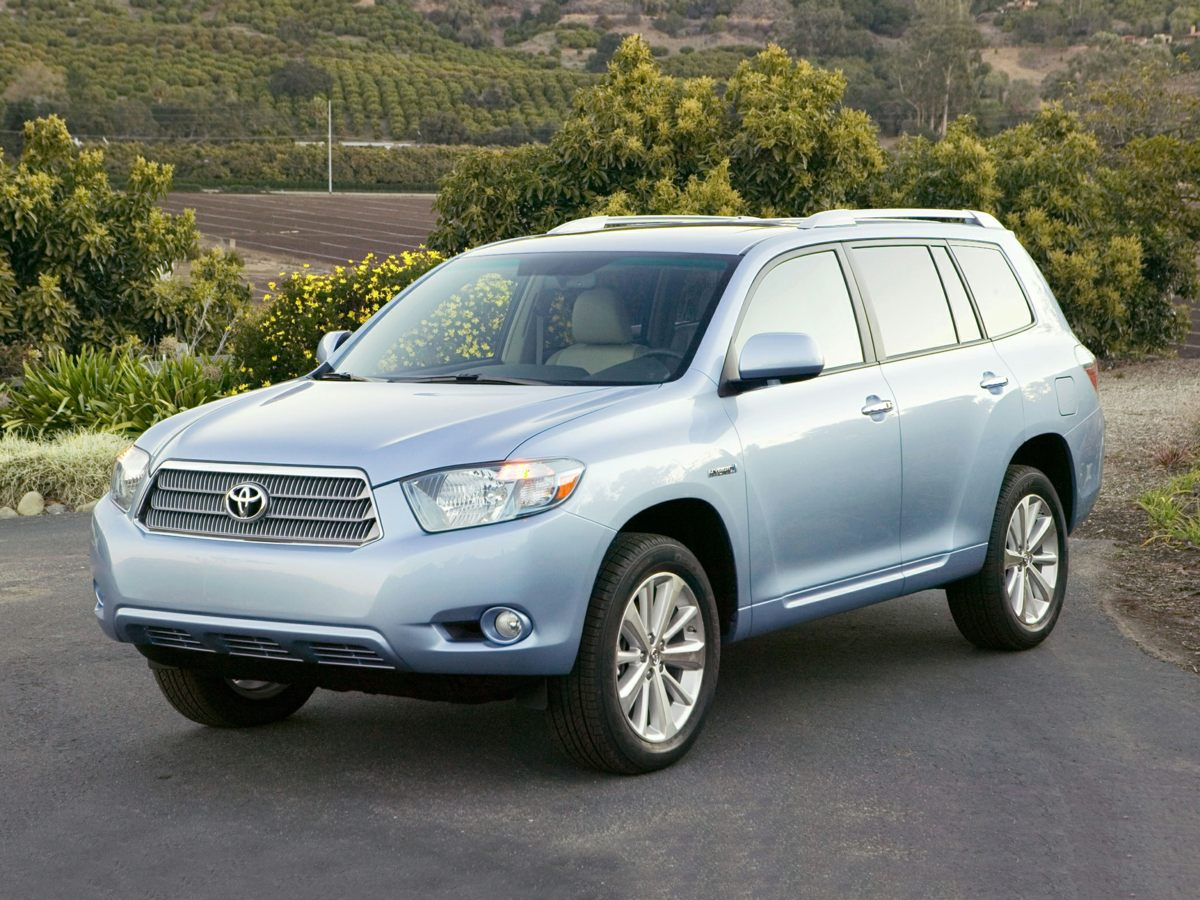 2008 Toyota Highlander Hybrid Limited NICE LOCAL TRADE IN and MAINTENANCE RECORDS AVAILABLE You w