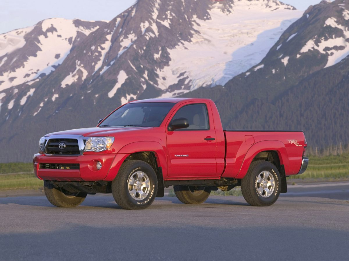 2008 Toyota Tacoma PreRunner Black Convenience Package 1 Cruise Control Privacy Glass Remote