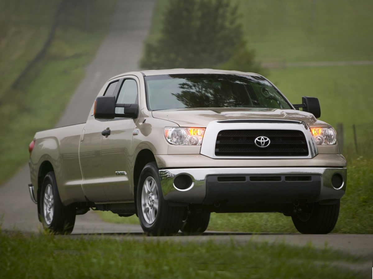 2008 Toyota Tundra Limited Leather Interior Tundra Limited 4D CrewMax i-Force 57L V8 DOHC No
