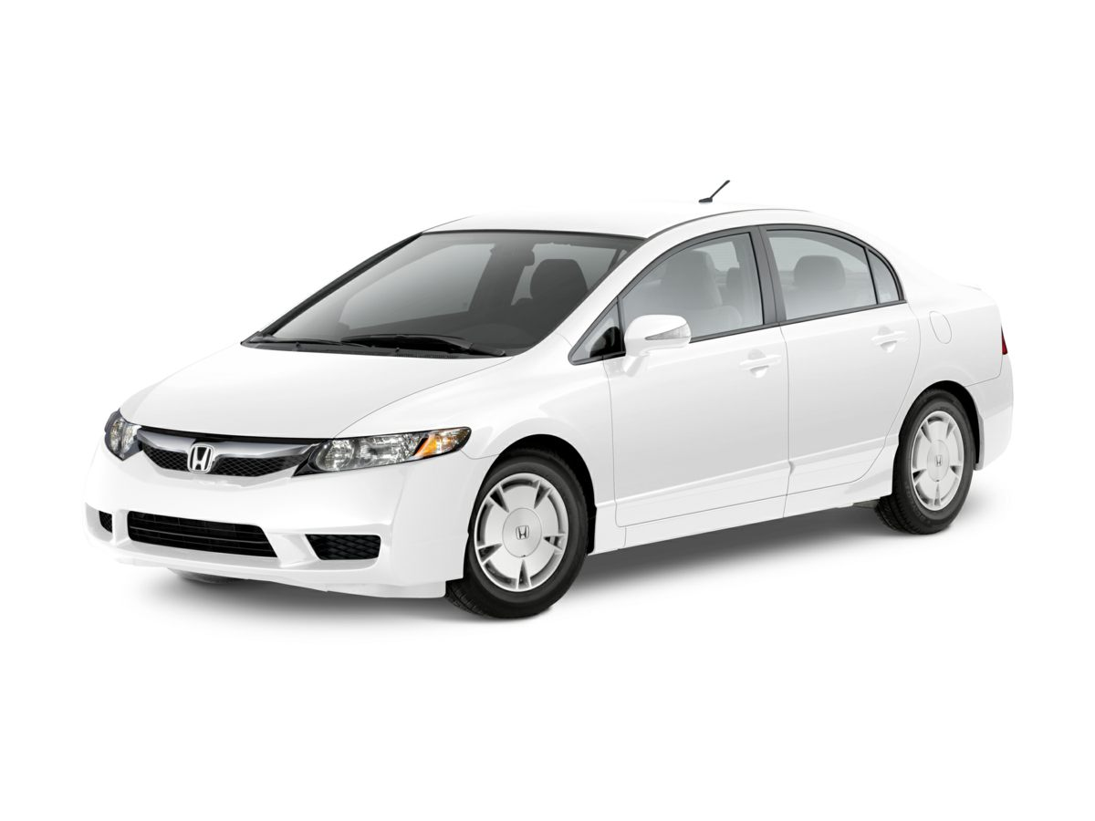 2009 Honda Civic Hybrid 15 Lightweight Alloy WheelsFront Bucket Seats160-Watt AMFMCD Audio Sy