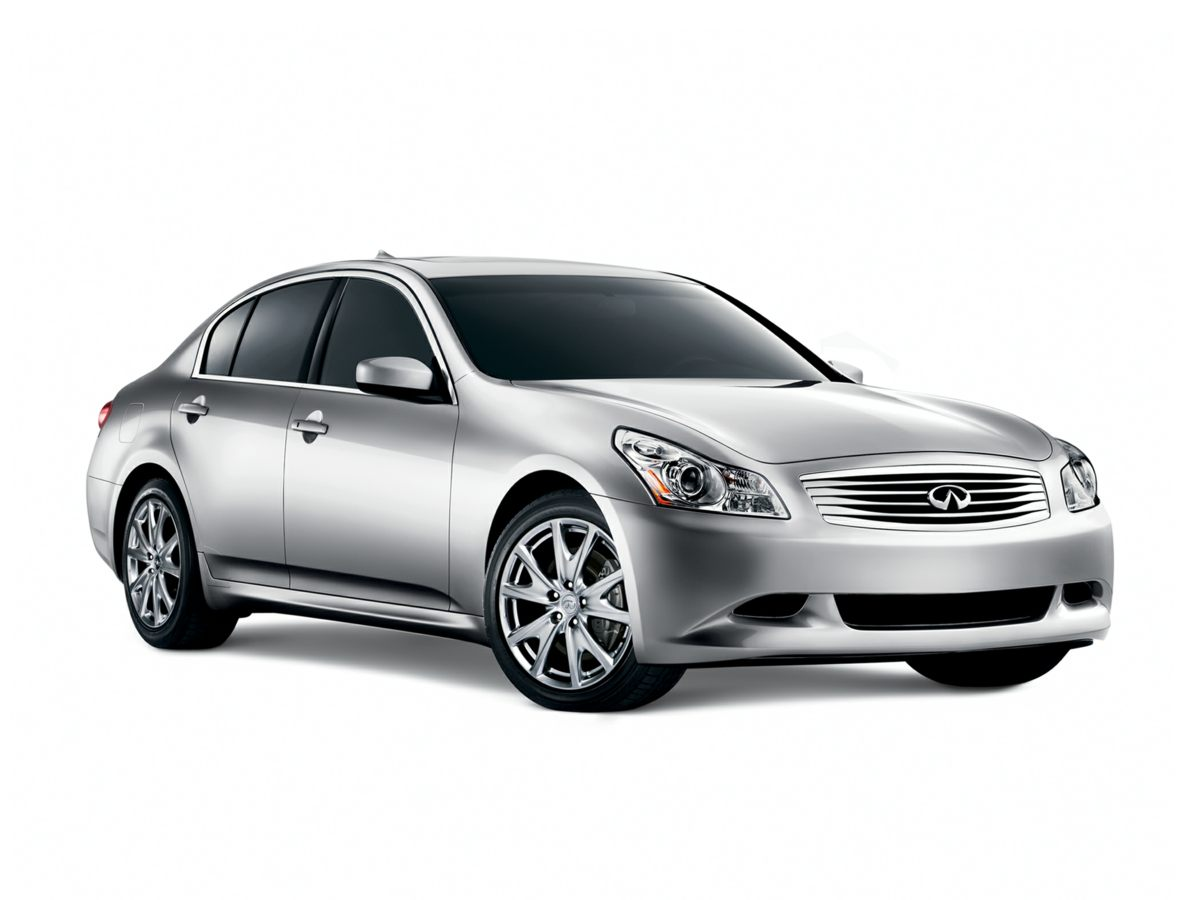2009 Infiniti G37 Silver 6 SpeakersAMFM radioCD playerMP3 decoderRadio data systemAir Condit