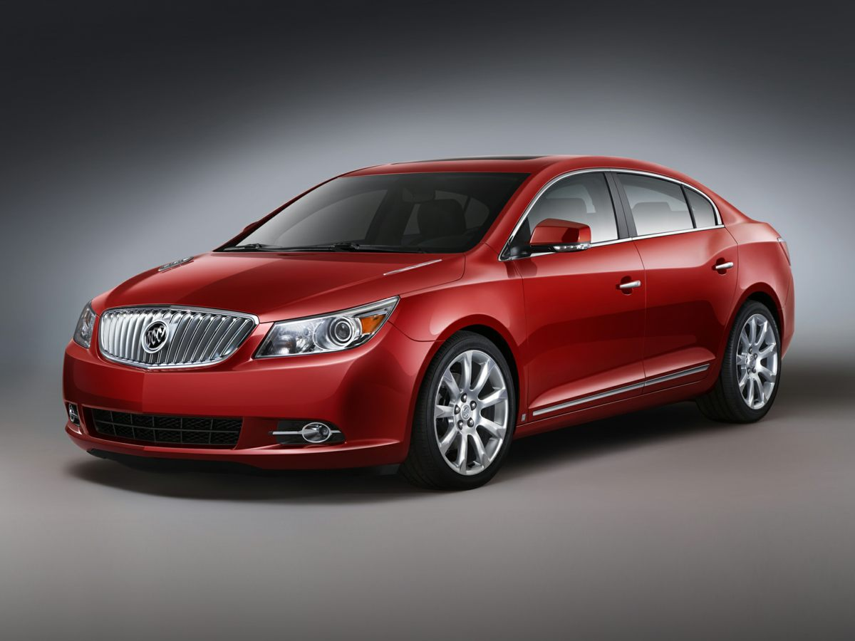 2012 Buick LaCrosse Leather Group Silver LaCrosse Leather Group and GM Certified Environmentally-