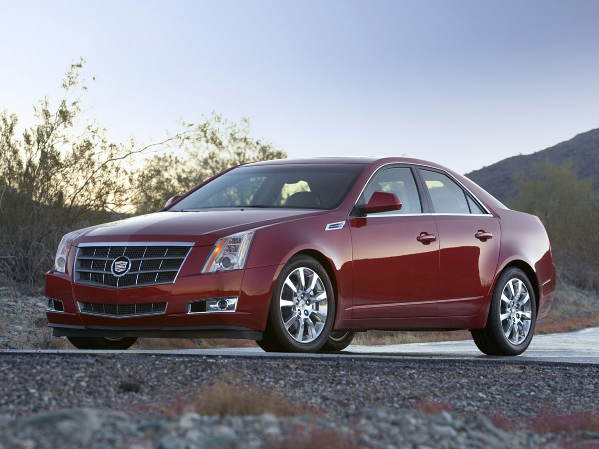 2010 Cadillac CTS 30L Performance Red Front Bucket SeatsLeather Seating SurfacesAMFM Stereo w