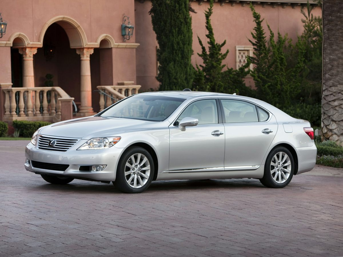 2010 Lexus LS 460 18 x 75J 10-Spoke Aluminum Alloy WheelsHeated Front Bucket SeatsLeather Seat