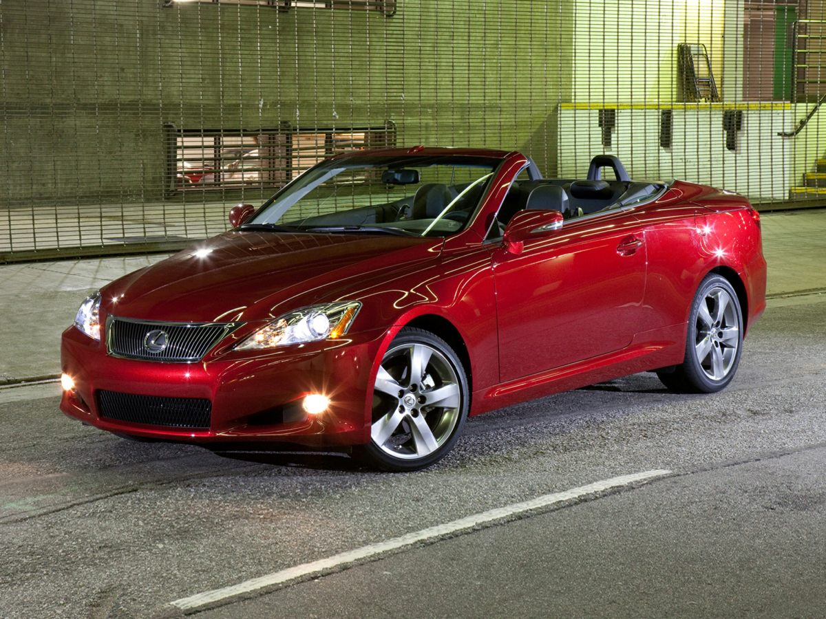 2010 Lexus IS 250 C Convertible HardTop8 SpeakersAMFM radio XMCD playerLexus Premium Audio S