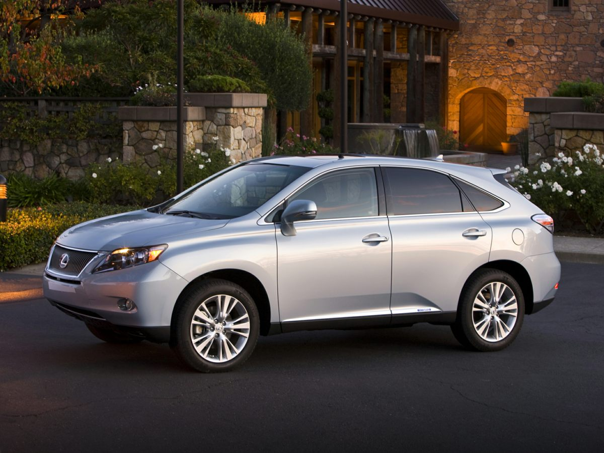 2012 Lexus RX 450h Silver  AWD-NAVIGATION-ONE OWNER Dont bother looking at any other SUV Get