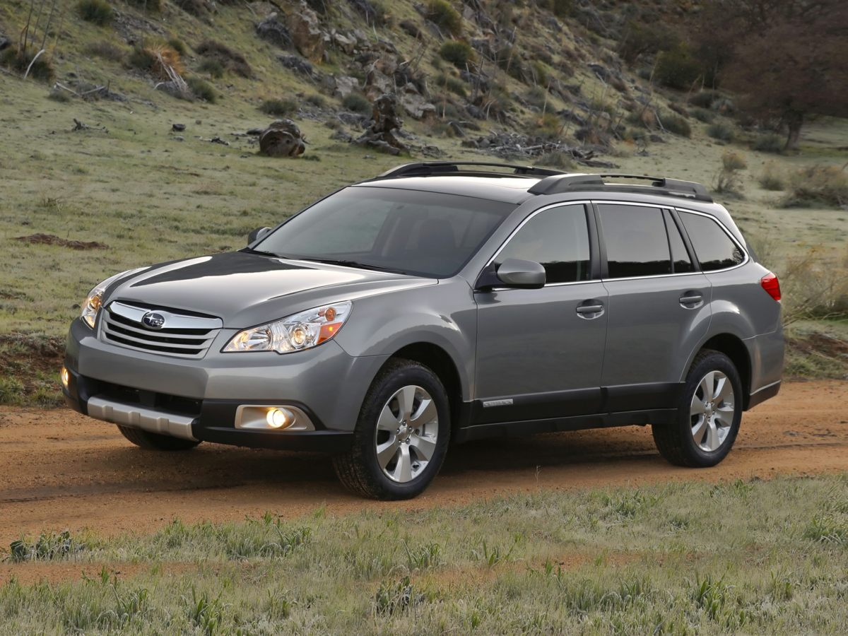 2011 Subaru Outback 25i Gray Leather Interior Outback 25i Limited 4D Sport Utility Auto-Dim