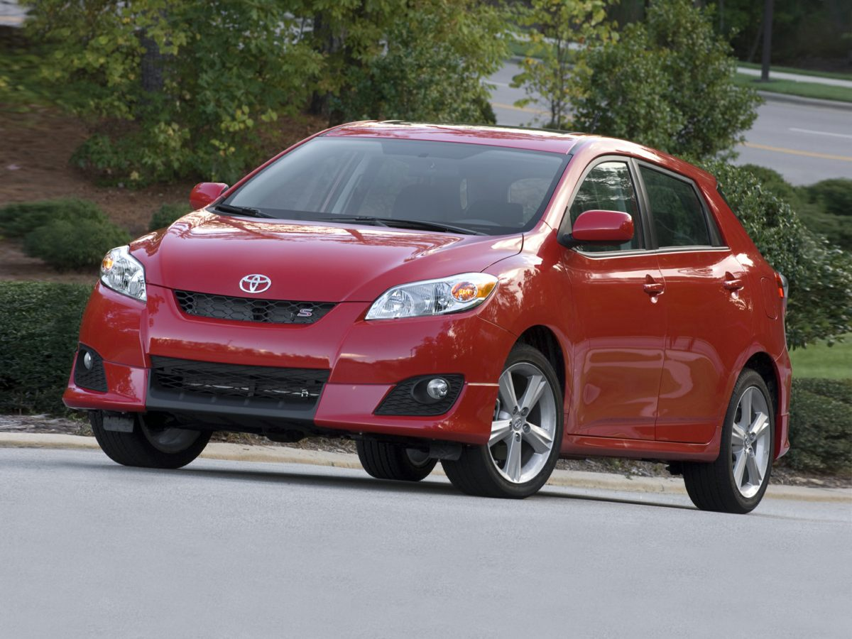 2010 Toyota Matrix Base 5 speed Stick shift The smart way to buy How would you like riding hom