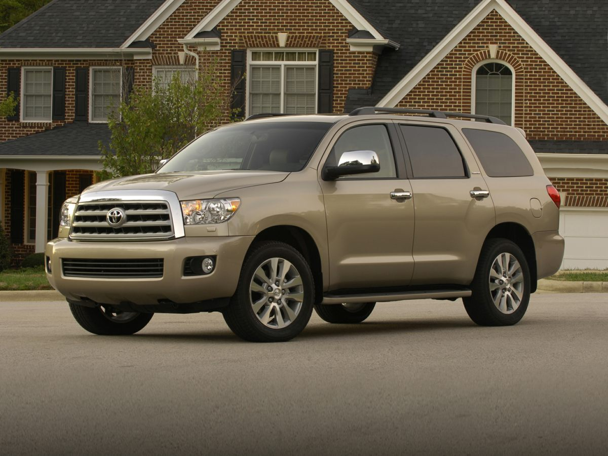 2010 Toyota Sequoia Platinum 430 Axle Ratio20 x 8 Silver Alloy WheelsFront Heated Bucket Seat