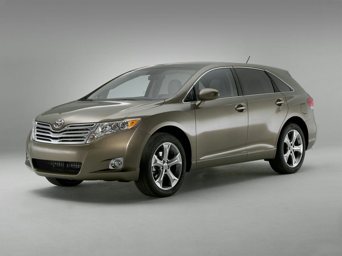 2011 Toyota Venza Base Blue Leather Interior 4D Sport Utility and Panoramic Glass Roof Come to