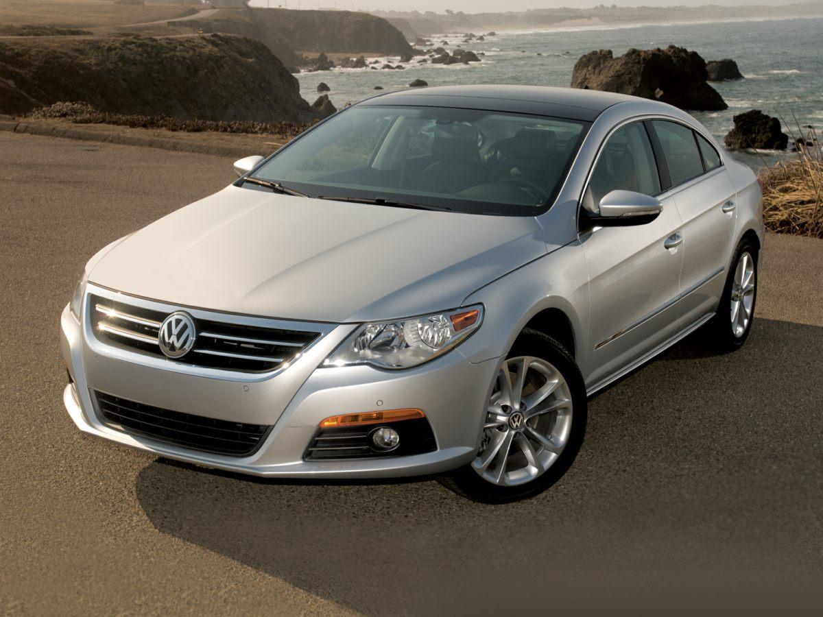 2010 Volkswagen CC Sport Silver CC Sport 4D Sedan and 6-Speed Manual 6spd Generous amount of