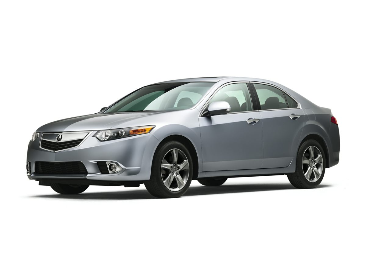 2011 Acura TSX 24 Black Leather Interior TSX 24 4D Sedan and Power moonroof Tremendous buil