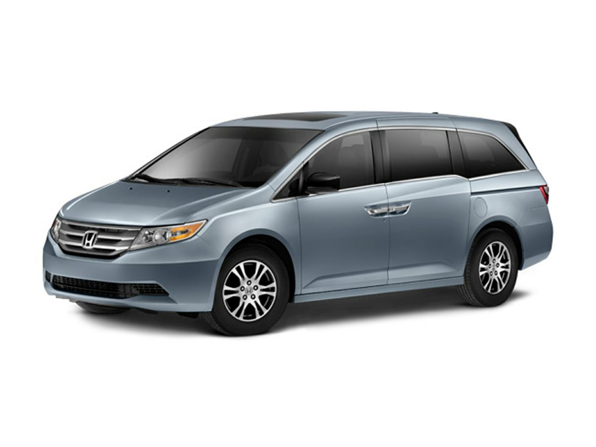 2012 Honda Odyssey EX-L Brown 17 x 7 Alloy Wheels User-friendly vehicle entrance and exit Com