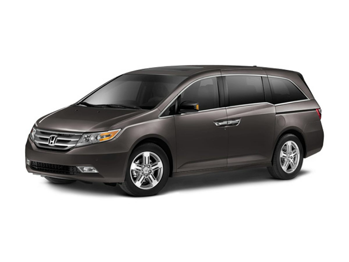 2012 Honda Odyssey Touring Gray Navigation System7 SpeakersAMFM radio XMCD playerDVD-Audio