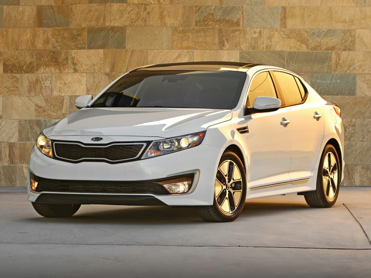 2013 Kia Optima Hybrid EX White Yeah baby Power To Surprise Creampuff This stunning 2013 Kia