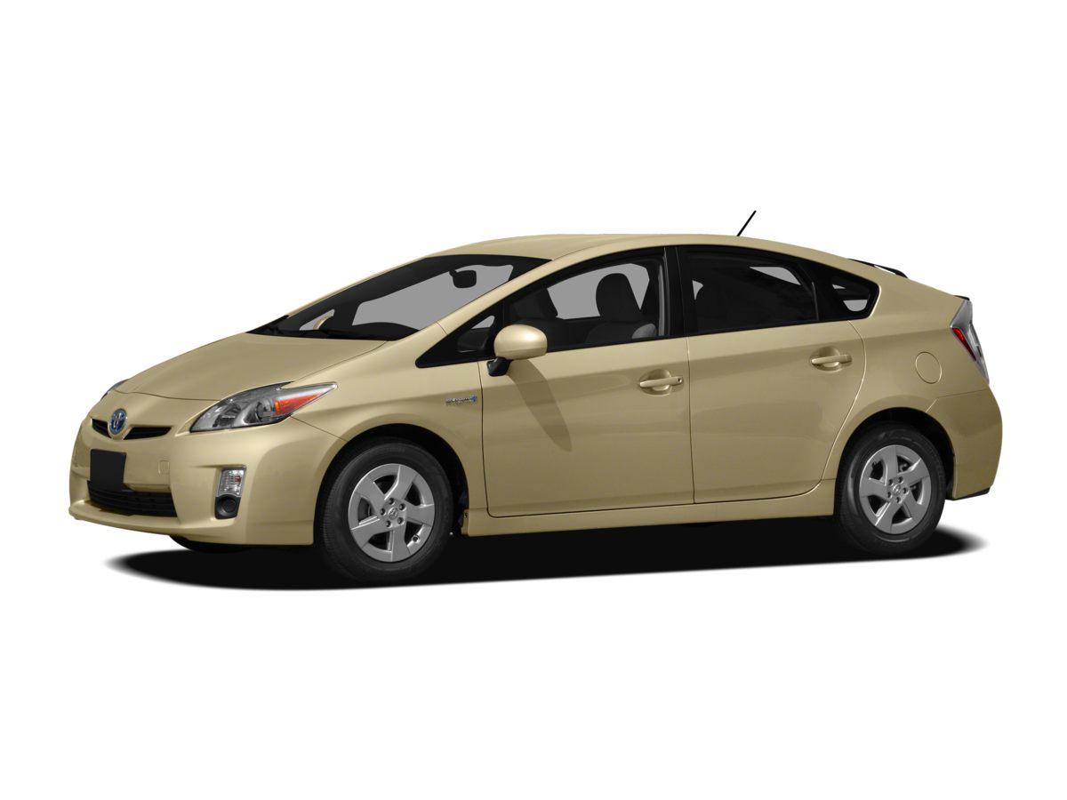 2011 Toyota Prius One 15 x 6J Alloy Disc WheelsFront Bucket SeatsFabric Seat TrimAMFM CD Play