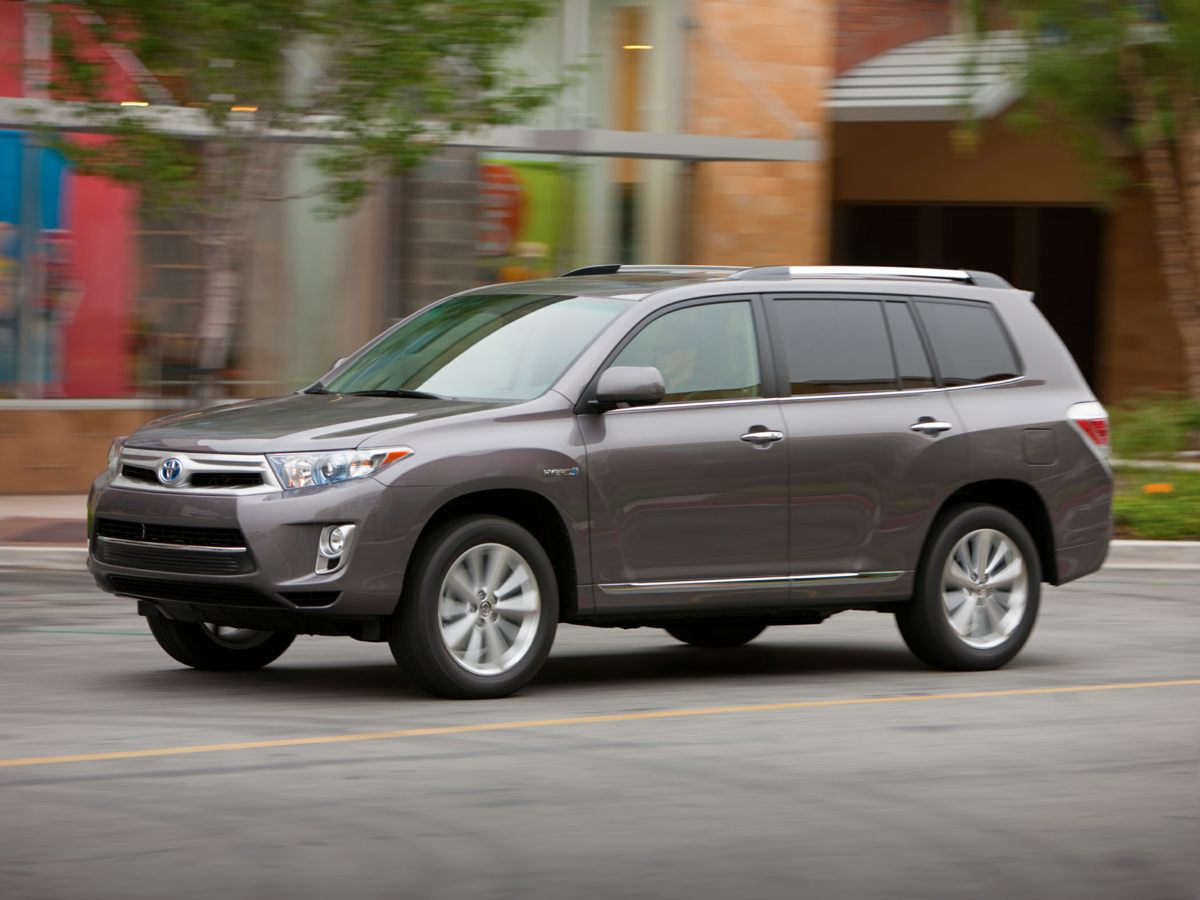 2012 Toyota Highlander White BE AWARE THAT THIS VEHICLE IS PRICED  UNDER Kelley Blue Book Va