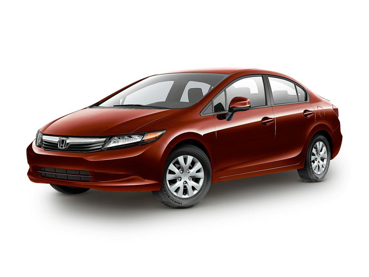 2012 Honda Civic LX Silver Civic LX and 4D Sedan Monumental gas savings Fuel Frugality Providi