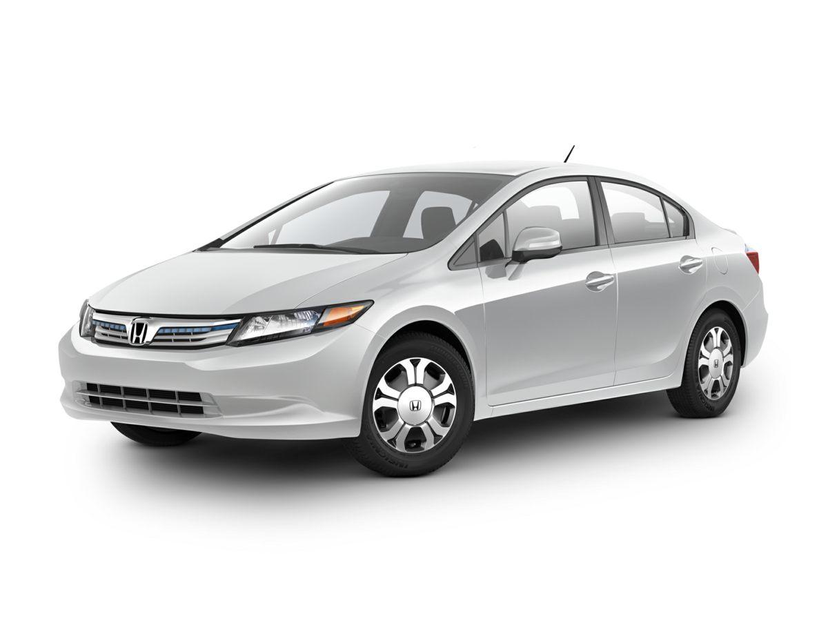 2012 Honda Civic Hybrid 6 SpeakersCD playerMP3 decoderRadio data systemAir ConditioningAutoma