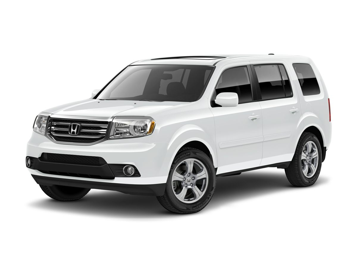 2012 Honda Pilot EX-L Gray Sunroof  Moonroof One Owner Clean Carfax Local Trade In 4WD 4 Wheel
