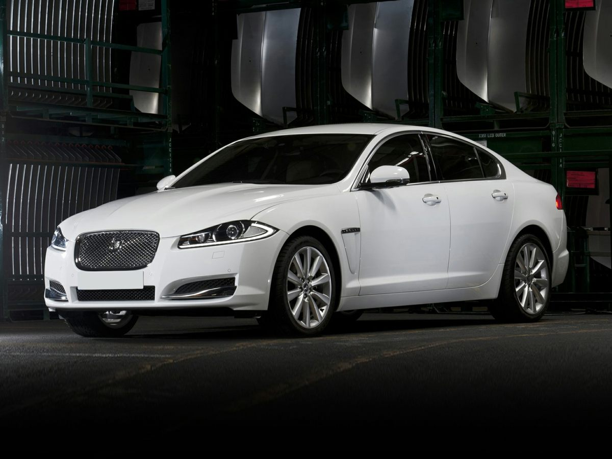 2012 Jaguar XF Base Silver CLEAN CARFAX Great Easy Financing Terms for all Credits