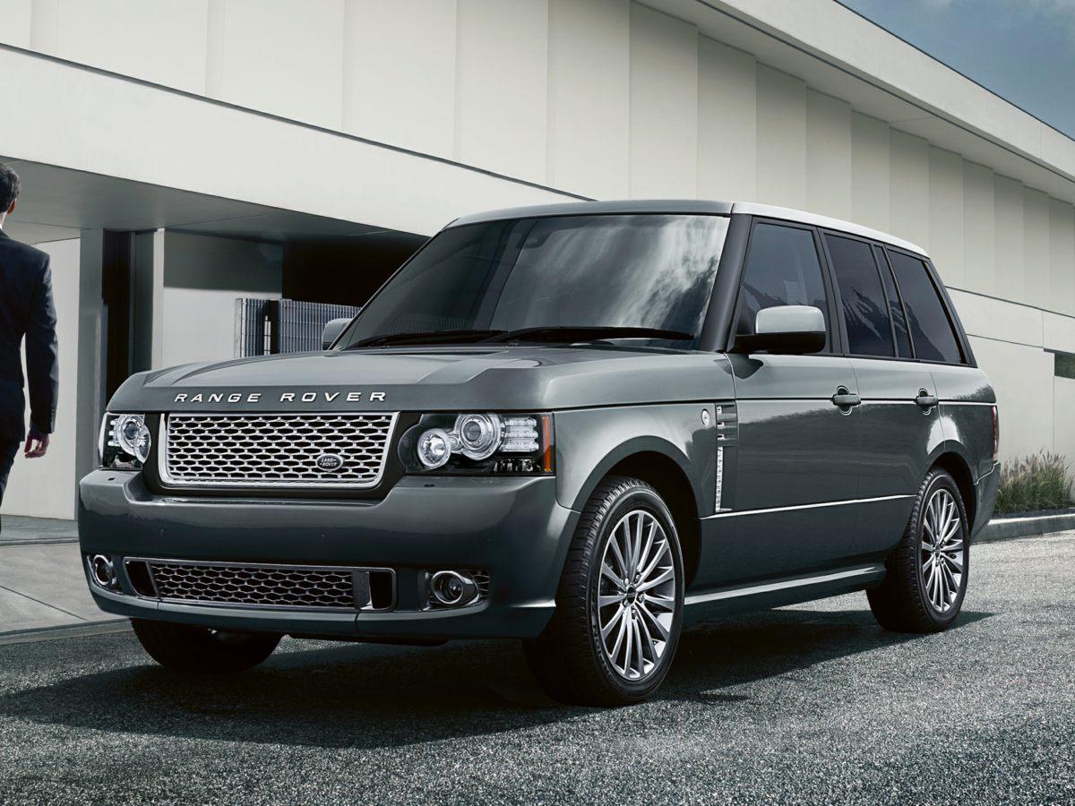 2012 Land Rover Range Rover HSE Silver PRICED 5130 BELOW KELLEY BLUE BOOKONE OWNER