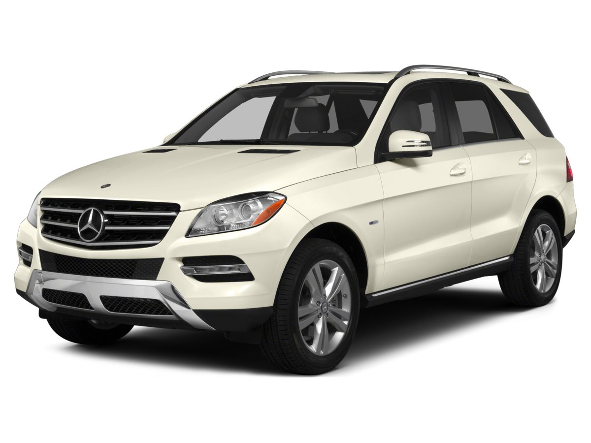 2012 Mercedes-Benz M-Class ML 350 Silver Clean CARFAX Palladium Silver Metallic 2012 Mercedes-Be